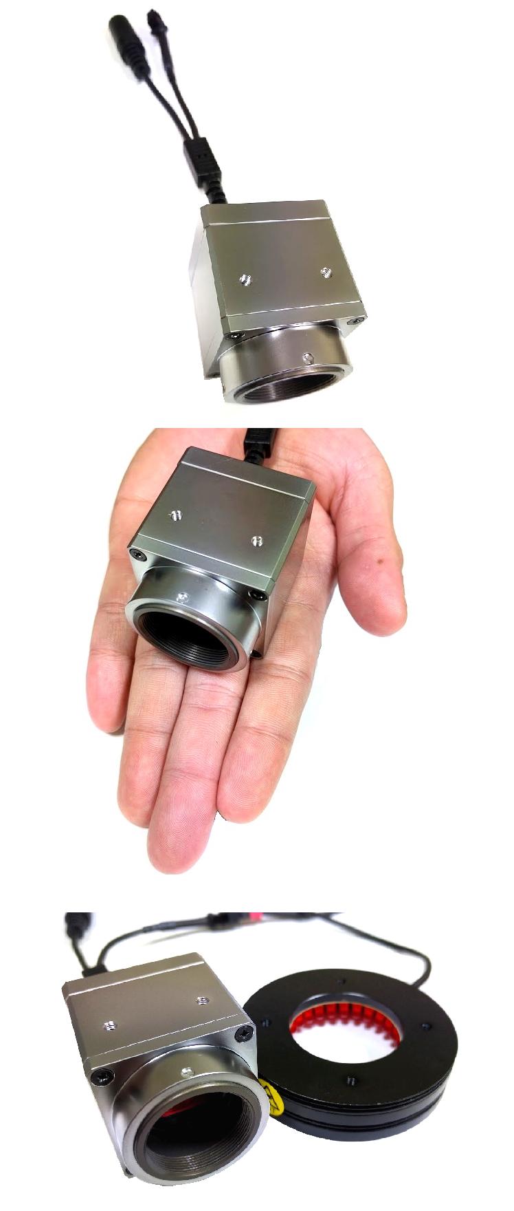 AISYS CYCLOPS U1000C攝影機-內建LED燈源控制器、10.0M像素、同步式、彩色