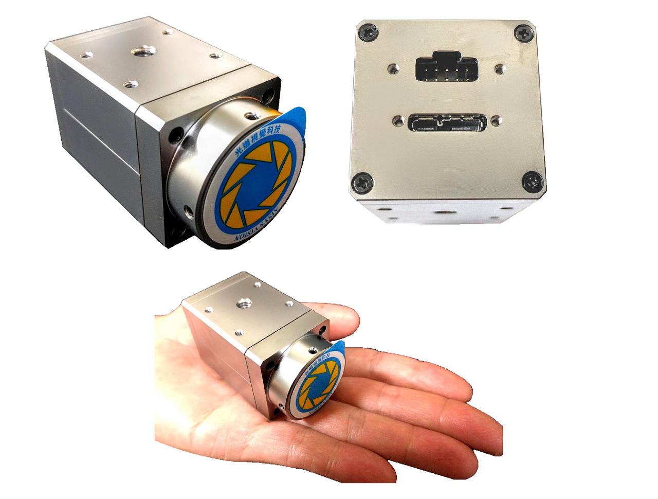 CYCLOPS SU250F-128攝影機-2.5M像素、非同步式、灰階、內建LED燈源控制器