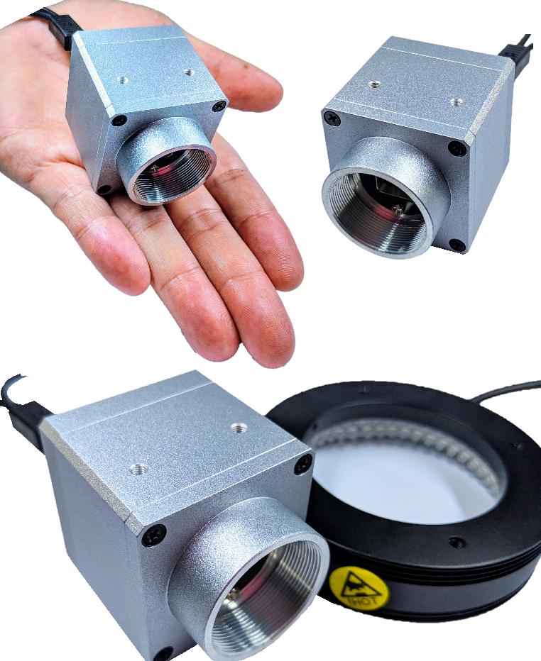 AISYS CYCLOPS U36F攝影機-內建LED燈源控制器、360K像素、非同步式、灰階