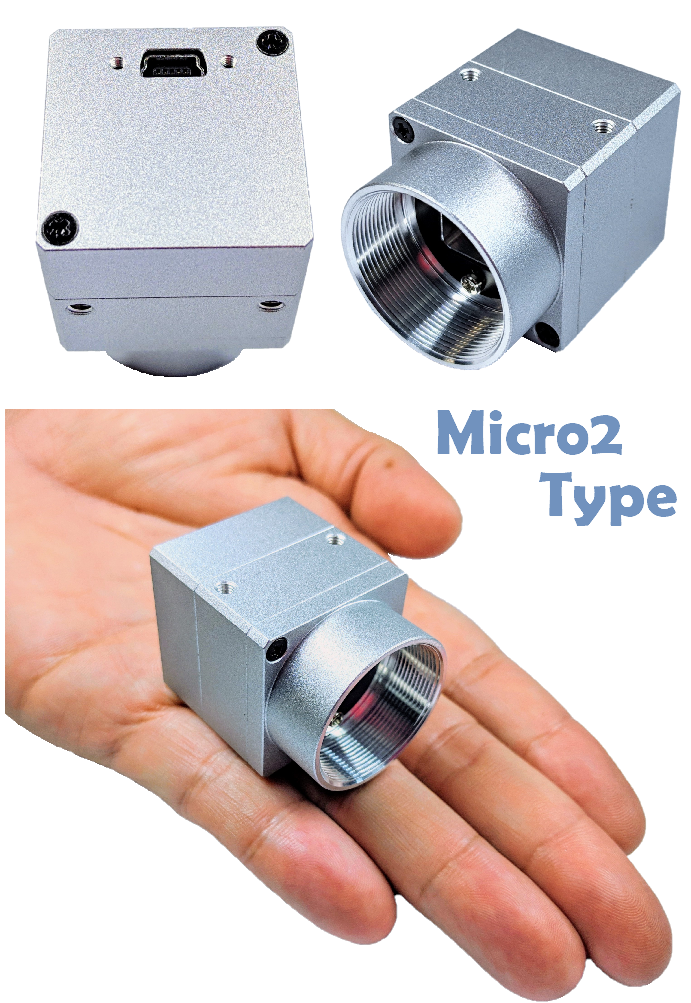 AISYS ALTAIR U36 攝影機 - 360K 像素、內外同步式、灰階